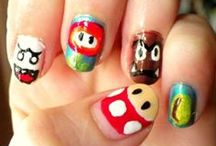 Mario Bross Nails / Mario Bross Nails #MarioBross #Nails, uñas de mario bross