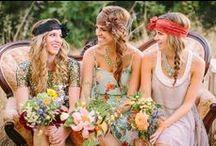 Style bohème chic pour FEMME / Exemples de tenues pour le mariage d'Aurélie et Cédric, les 26 et 27 juillet 2014