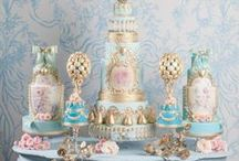 2015 wedding trends / New and trendy ideas for 2015 weddings. Inspiration from Marie Antoinette, Fortnum and Mason and colour schemes include Rose Gold and powdery blues to name a few.
