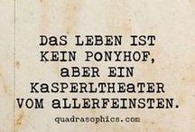 Sprüche und Zitate, Words