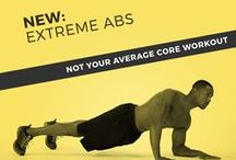 Abs Attack / Skimble workouts that focus on getting you that 6-pack you've been dying for!