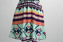 dresses / In love with dresses like this especially chevron and Aztec prind dresses