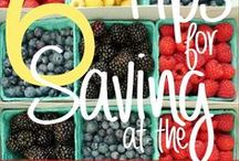 Healthy Shopping Tips / Learn how to shop for wholesome, healthy foods on a budget!