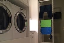 Recent Laundry Room Installs / Showcasing the latest activity that Jim Lutz, the founder of DryAway, has been up to.