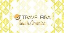 South America / Travel Pins with tips for traveling in South America.