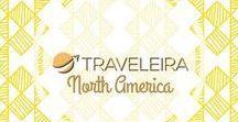 North America / Travel Pins with tips for traveling around North America. #Canada #Mexico
