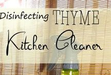 Natural Home / Natural ways to create your own household cleaners. Keep your home clean without chemicals.