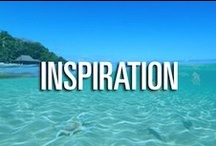 Inspiration / A dash of inspiration for your day.