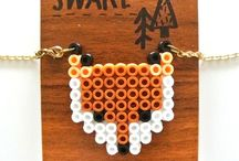 ♥ hama beads / feel like a child again and make fun stuff with hama beads