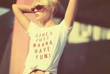 ♥ t-shirts