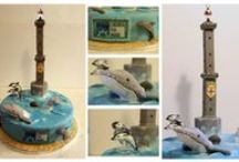 1st Consorzio Liguria Via Mare Cake Design Contest / Theme: Whale Watching in Liguria  Pictures of cakes that have participated in our 1st Cake Design contest