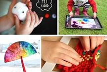 Kid Art and Crafts / Fun easy craft ideas for the kids to make, for you to make together and to gift to kids.
