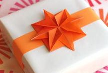 Christmas Origami / Origami and paper decorations for the Holidays.