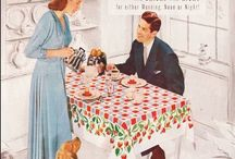 Tea towels/hankies/linens 2 / Board full / by Diane Yacopino