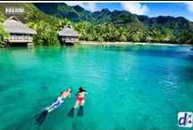 Bora Bora / Un lugar soñado, a la altura de tus deseos. Vuela con #Despegar .