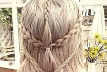 Hair / This bored includes, fantasy hair, simple, beautiful and natural.