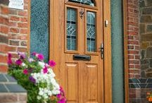 The Conway Range / The Conway is a sympathetically styled door equally at home gracing a traditional terraced property or semi-detached suburban home.