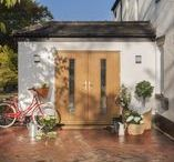 Composite French Doors / If you are a style savvy homeowner then forget typical PVCu French Doors, as a Solidor design can look quite breathtaking.