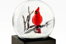 Snow globes / A collection of weird and wonderful snow globes.