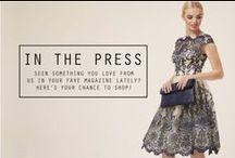 CHI CHI PRESS / The Press are loving these Chi Chi dresses!