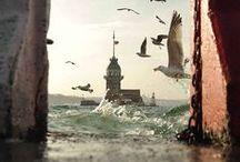 istanbul / İstanbul deyince aklıma martı gelir  Yarısı gümüş, yarısı köpük  Yarısı balık yarısı kuş  İstanbul deyince aklıma bir masal gelir  Bir varmış, bir yokmuş ....