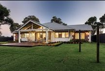 The Karri Creek Traditional / The Karri Creek Traditional is a true Australian country style living home. It's not hard to imagine this home sitting comfortably in a scenic setting complete with hammock strung between the bush poles, and the afternoon breeze passing through.