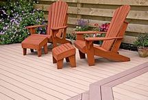 Our Composite Decking Ranges / TimberTech's composite decking comes in all kinds of different colours and styles. Which is your favourite?