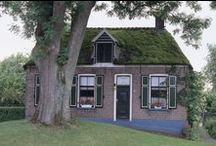 Noord-West Overijssel : boerderijen / old farmhouses, barns and similar rural buildings in the NW part of Overijssel province, Netherlands - incl IJsseldelta