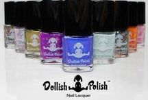 Dollish Polish Artisan Nail Lacquer / See the latest shades and swatches from Fandom & Pop Culture inspired nail lacquer line. Where  geek meets chic!