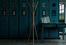 cancan / coat hanger / 2013 / mat. solid french oak wood & cord leather / size. w.45cm x d.45cm x h.170cm | w.17,7in x d.17,7in x h.67in /  'studio gud' for 'Wewood - Portuguese Joinery'.
