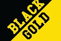 Black & Gold / by IMC Sport Novelties