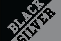 Black & Silver / by IMC Sport Novelties