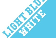 Light Blue & White / by IMC Sport Novelties