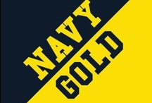 Navy & Gold / by IMC Sport Novelties