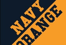 Navy & Orange / by IMC Sport Novelties