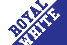 Royal & White / by IMC Sport Novelties