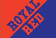 Royal & Red / by IMC Sport Novelties