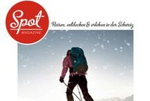 Spot Magazine #1 / Your local travel and leisure magazine for Zurich and Switzerland // Vor Ort aus erster Hand – das regionale Reise- und Freizeit Magazin der Schweiz  - -   You find the links to the articles after the captions below the photo // Sie finden die direkten Links zu den Artiklen unterhalb des Photos nach dem Titel - -  Have fun reading // Viel Spass beim Lesen!!
