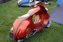 Classic 2T Vespa / Every Vespa with 2 Stroke engine from 1946 until nowadays. Κάθε δίχρονη Vespa από το 1946 μέχρι σήμερα.