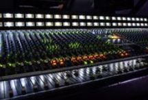Recording Studio, Gear & Guitars / Studio recording, gear, guitars and music.