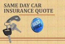 Same Day Car Insurance Quote / We offers cheap same day car insurance quote to get same day auto insurance cover, policy at affordable price which saves money. Go for it now to find cheapest insurance.