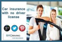 Car Insurance With No License / Baddrivingcarinsurance.com offers Car insurance with no driver license with no or zero down payment. We offers full coverage car insurance with no license at cheapest cost which satisfied consumers needs. Buy car insurance with no license for bad drivers and car owners to save money on bad credit!