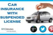 Car Insurance With Suspended License / Baddrivingcarinsurance.com offers cheap car insurance for suspended license at lowest premium cost.We offers Suspended license car insurance for bad drivers and car owners. Search Sr22 car insurance for a suspended license with bad driving car insurance record accepted with instant approval.