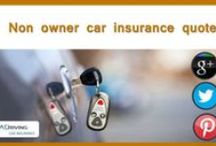 Car Insurance For Non Owners / Baddrivingcarinsurance.com offers Non owners car insurance quote online with bad credit accepted. We offers Non owner liability car insurance at affordable rates. Know more about What is a non owners policy for car insurance with cheapest prices which reduce policy rates! Secure Non owners car insurance quote on net with quick approval!