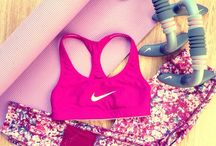 Gym outfits , workouts