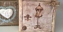 Shabby Chic, vintage, mixed media... / A little of everything