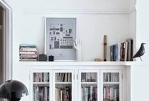 Books For Everyone / Stylish book storage inspiration