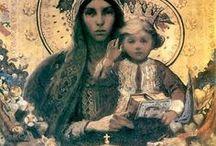 .perfect icons / icons of Catholic Saints & God