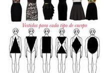 Tipos / Todos los tipos de vestimenta como faldas, vestidos, cuellos, etc. Todo relacionado con el vestir.