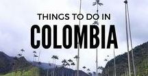 Things To Do   In Colombia / From the incredible sights of the Carribean sea in San Andreas to the magical realism of Salento, San Gil, San Agustin, Guatape, Medellin, Bogota, Santa Marta and Cartagena. Here's all the inspiration you need to travel Colombia / Colombia travel / Things to do in Colombia travel / Colombia travel places to visit / Colombia travel tips / Colombia travel guide / Colombia travel bucket lists / Solo travel, Backpacker, Wanderlust, travel blogger, travel pics, Where to go in Colombia